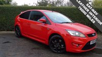 2010 FORD FOCUS 2.5 ST-3 3d 223 BHP, OUTSTANDING SPEC AND PERFORMANCE, FSH, SAT-NAV, FULL LEATHER INTERIOR £9995.00