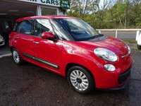 USED 2014 64 FIAT 500L 1.2 MULTIJET POP STAR 5d 85 BHP One Owner from new, Fiat Service History + Just Serviced, NEW MOT (to be completed), Excellent on fuel economy! Only £20 Road Tax! Diesel