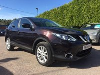 USED 2014 64 NISSAN QASHQAI 1.5 DCI ACENTA PREMIUM 5d SAT NAV AND LOW MILEAGE NO DEPOSIT  PCP/HP FINANCE ARRANGED, APPLY HERE NOW