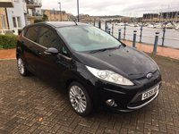 USED 2009 59 FORD FIESTA 1.4 TITANIUM TDCI 5d 68 BHP £20 TAX! 67 MPG! LOW MILEAGE! HIGH SPEC!