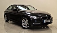 USED 2014 14 BMW 3 SERIES 2.0 320D SPORT 4d 184 BHP + 1 OWNER FROM NEW  + AIR CON + AUX + BLUETOOTH + CRUISE CONTROL