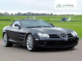 2008 MERCEDES-BENZ SLR MCLAREN 5.4 MCLAREN ROADSTER 2d AUTO 617 BHP £340000.00