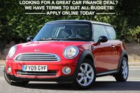 USED 2009 09 MINI HATCH COOPER 1.6 COOPER 3d 118 BHP Full Service History - No Advisories
