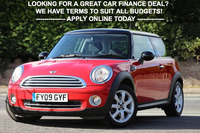 2009 09 MINI HATCH COOPER 1.6 COOPER 3d 118 BHP