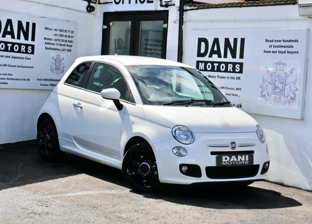 USED 2015 65 FIAT 500 1.2 S (s/s) 3dr 1F OWNER*PARKING AID*BLUETOOTH