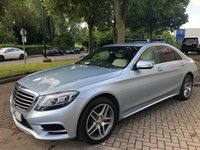 USED 2016 16 MERCEDES-BENZ S CLASS 3.0 S350 D AMG LINE 4DR 255 BHP LUXURY LOW MILEAGE SALOON
