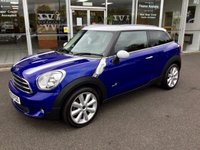 USED 2013 63 MINI PACEMAN 1.6 COOPER D ALL4 3 DOOR CHILI PACK 112 BHP