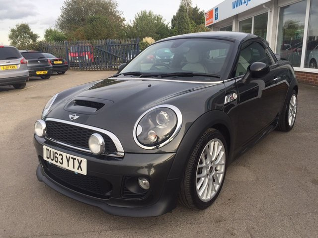 2013 63 MINI COUPE 2.0 COOPER SD 2d 141 BHP
