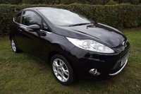 USED 2012 FORD FIESTA 1.2 ZETEC 3d 81 BHP FSH-B/TOOTH-ALLOYS Presented with 2 Keys, FSH, 23k Miles & 2 Owners, 12 Months MOT, Alloy Wheels, USB, Voice Active Bluetooth, Heated Front Screen, Air Conditioning, Radio/CD Player, Remote Central Locking, Electric WIndows, Electric Windows,
