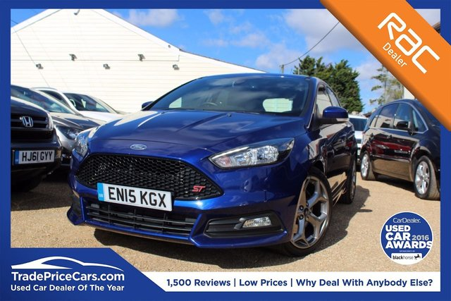 View our 2015 15 FORD FOCUS 2.0 ST-2 TDCI 5d 183 BHP