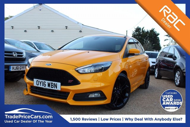 View our 2016 16 FORD FOCUS 2.0 ST-3 5d 247 BHP