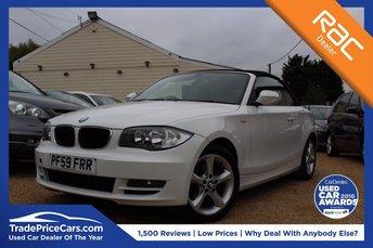 2010 BMW 1 SERIES 2.0 118I SPORT 2d 141 BHP £7750.00