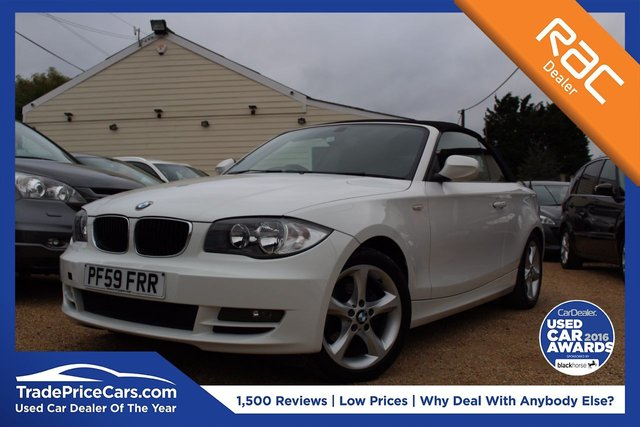 View our 2010 59 BMW 1 SERIES 2.0 118I SPORT 2d 141 BHP