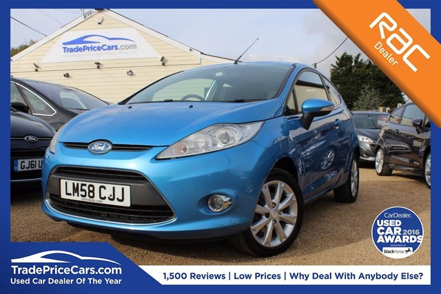 View our 2008 58 FORD FIESTA 1.2 ZETEC 3d 81 BHP