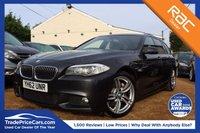 USED 2012 62 BMW 5 SERIES 2.0 525D M SPORT TOURING 5d AUTO 215 BHP