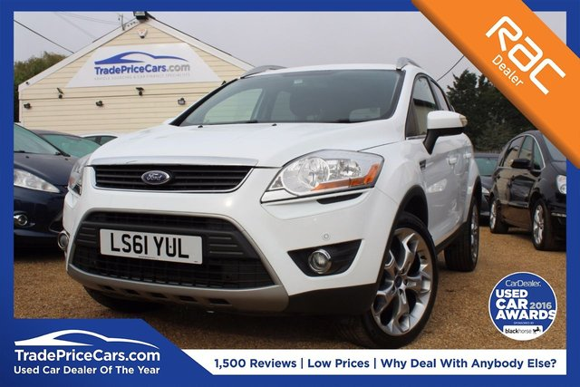 View our 2011 61 FORD KUGA 2.0 ZETEC TDCI 2WD 5d 138 BHP