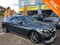 USED 2016 16 MERCEDES-BENZ C CLASS 2.0 C 300 AMG LINE 2d AUTO 241 BHP THE CAR FINANCE SPECIALIST