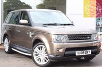 USED 2009 09 LAND ROVER RANGE ROVER SP HSE TDV6 A 3.0