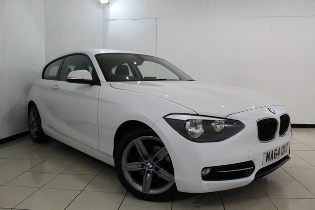 View our 2014 64 BMW 1 SERIES 1.6 116I SPORT 3DR 135 BHP