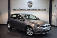 USED 2015 15 VOLKSWAGEN GOLF 1.4 MATCH TSI BLUEMOTION TECHNOLOGY 5DR 120 BHP + FULL SERVICE HISTORY + BLUETOOTH + CRUISE CONTROL + DAB RADIO + HEATED MIRRORS + PARKING SENSORS + 16 INCH ALLOY WHEELS +