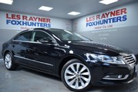 USED 2012 62 VOLKSWAGEN CC 2.0 GT TDI BLUEMOTION TECHNOLOGY 4d 168 BHP Xenons , Leather , Sat Nav , Cruise control