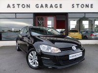 USED 2013 63 VOLKSWAGEN GOLF 1.4 SE TSI BLUEMOTION TECHNOLOGY DSG 5d AUTO 120 BHP ** 1 0WNER * FSH ** ** ONE OWNER * F/S/H * DAB **