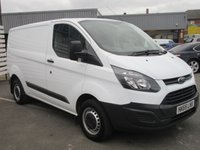 USED 2015 65 FORD TRANSIT CUSTOM 2.2 290 100 BHP Plylined