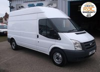 USED 2009 09 FORD TRANSIT MWB HIGH ROOF 115BHP T350 1 OWNER + DEALER FROM NEW