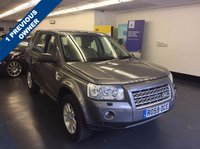 USED 2009 59 LAND ROVER FREELANDER 2.2 TD4 XS 5d AUTO 159 BHP £7,000 WORTH OF FACTORY EXTRAS INCLUDING TOUCH SCREEN NAV, 1 PREVIOUS OWNER