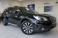 USED 2017 67 SUBARU OUTBACK 2.0D SE Premium CVT Ivory Limited Edition Black With Ivory Leather