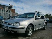 2003 VOLKSWAGEN GOLF 1.6 SE 5d AUTO 101 BHP £1295.00