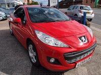 2009 PEUGEOT 207 1.6 CC SPORT 2d 120 BHP £3895.00