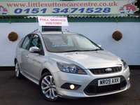 USED 2009 09 FORD FOCUS 1.6 ZETEC S S/S 5d 113 BHP FULL SERVICE HISTORY, ONE PRIVATE OWNER, FINANCE AVAILABLE, ZETEC S