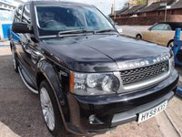USED 2009 59 LAND ROVER RANGE ROVER SPORT 3.0 TDV6 HSE 5d AUTO 245 BHP 4x4
