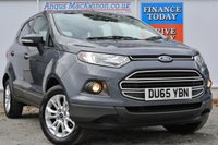 USED 2015 65 FORD ECOSPORT 1.0 ZETEC 5d 124 BHP **ONE OWNER FROM NEW**