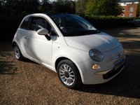 USED 2013 63 FIAT 500 0.9 C LOUNGE 3d 85 BHP £0 Tax, Great MPG, Bluetooth