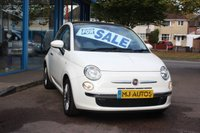2012 FIAT 500 1.2 LOUNGE 3dr 69 BHP £SOLD
