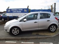 USED 2009 09 VAUXHALL CORSA 1.2 ACTIVE 5d 80 BHP