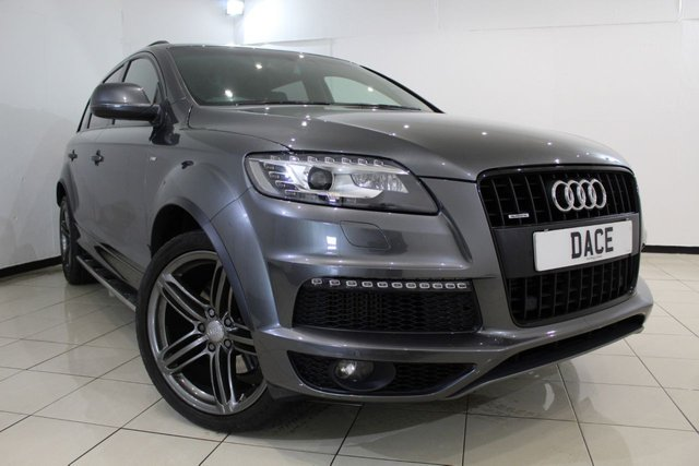View our 2013 13 AUDI Q7 3.0 TDI QUATTRO S LINE PLUS 5DR AUTOMATIC 245 BHP