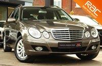 USED 2007 07 MERCEDES-BENZ E CLASS 3.0 E280 CDI ELEGANCE 5d AUTO 187 BHP