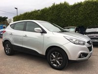 2014 HYUNDAI IX35 1.7 CRDI S 5d 1 PRIVATE OWNER FROM NEW HYUNDAI 5YR UNLIMITED MILEAGE WARRANTY  £8500.00