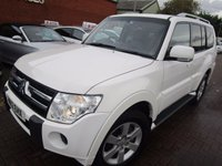 USED 2012 12 MITSUBISHI SHOGUN 3.2 EQUIPPE DI-D LWB 5d AUTO 197 BHP CHEAPEST IN THE UK AND JUST IN