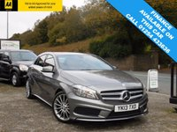2013 MERCEDES-BENZ A CLASS 1.8 A180 CDI BLUEEFFICIENCY AMG SPORT 5d AUTO 109 BHP £14490.00