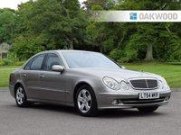 2004 MERCEDES-BENZ E CLASS 3.2 E320 CDI AVANTGARDE 4d AUTO 204 BHP £2995.00