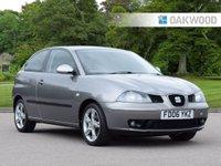 2006 SEAT IBIZA 1.9 FR TDI 3d 129 BHP £2995.00