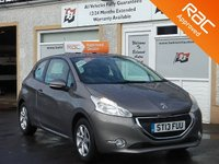 USED 2013 13 PEUGEOT 208 1.4 HDI ACTIVE 3d 68 BHP Bluetooth ,Touchscreen Dab Radio , USB & AUX Point .