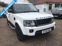 USED 2014 14 LAND ROVER DISCOVERY 3.0 SDV6 HSE 5d AUTO 255 BHP FULL HISTORY / REVERSE CAMERA / SAT NAV / 7 SEATER / SUN ROOF