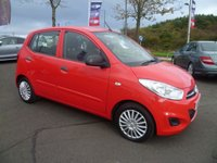 USED 2012 12 HYUNDAI I10 1.2 CLASSIC 5d 85 BHP £20 ROAD FUND - LOW INSURANCE GROUP - SERVICE & 12 MONTHS MOT INCLUDED