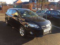 USED 2014 64 FORD FOCUS 1.6 ZETEC NAVIGATOR TDCI 5d 113 BHP WITH PARKING SENSORS, ALLOY WHEELS, FRONT HEATED WINDSCREEN..EXCELLENT FUEL ECONOMY!!..LOW CO2 EMISSIONS(109G/KM)..£20 ROAD TAX...FULL HISTORY...ONLY 13021 MILES FROM NEW!!