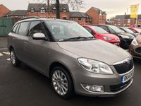 USED 2014 14 SKODA FABIA 1.2 ELEGANCE TSI DSG 5d AUTO 103 BHP TSI AUTOMATIC(DSG) WITH PARKING SENSORS, ALLOY WHEELS!..EXCELLENT FUEL ECONOMY!!..LOW CO2 EMISSIONS(124G/KM)..LOW ROAD TAX..FULL HISTORY..ONLY 8798 MILES FROM NEW!!..